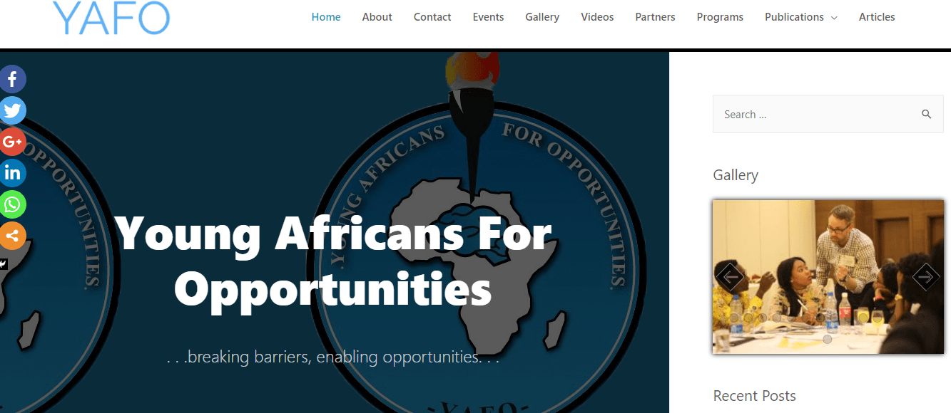 Young Africans for Opportunities