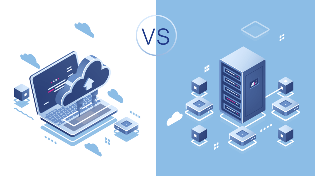 shared hosting vs cloud